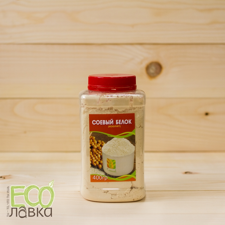 "Соевый белок (изолят) ""Cereal"", 400гр/Soy Protein (Isolate) ""Cereal"", 400g"