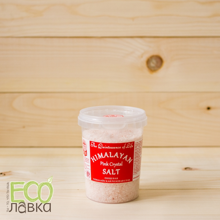 Гималайская Розовая соль среднего помола,482гр/Middle grinding Himalayan Light Red Crystal Salt,482g