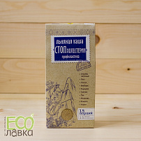 "Каша заварная льняная ""Стоп Холестерин"", 400гр/Flax Porridge for brewing ""StopCholesterin"", 400g"