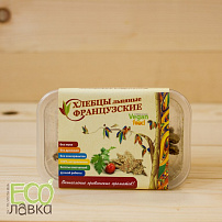 "Хлебцы Льняные ""Французские"", 100гр/Flax Crispbread ""French"", 100g"