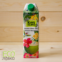 Вода кокосовая King Island, 1000мл/Pure Coconut Water King Island, 1000ml