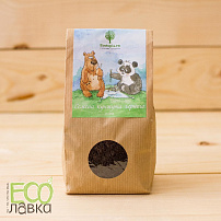 "Кунжут черный необжаренный ""Экотопия"", 300гр/Raw Black Sesame Seeds ""Ecotopia"", 300g"
