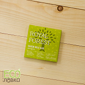 Шоколад из кэроба Royal Forest Миндаль, 75гр/Royal Forest Carob Chocolate with Almonds, 75g